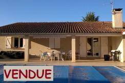 Belle villa T4 plain-pied avec piscine