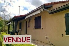 Villa T4 de plain-pied sur 500 m2
