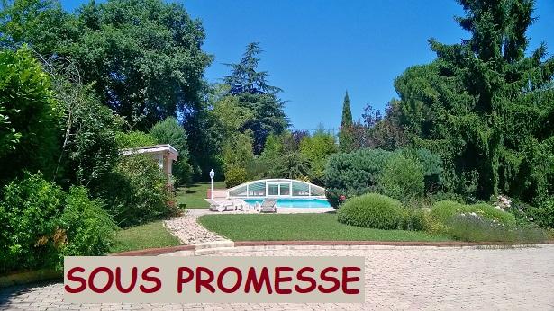 Belle villa de plein pied sur 1430 m2